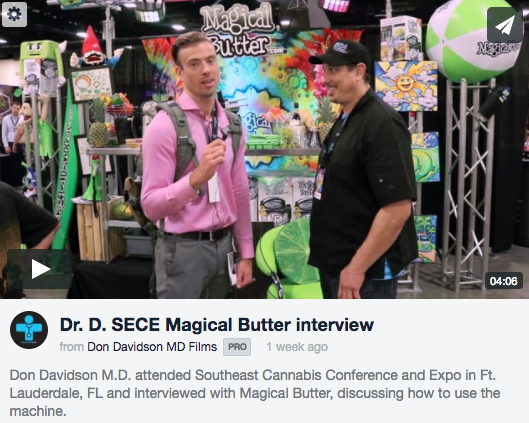 Magical Butter Interview