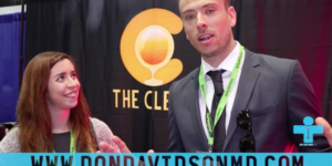 Dr. D Interviews the woman behind The Clear brand! Learn her fav flavor :) Watch –>