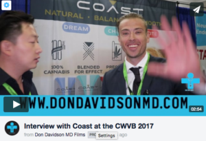 Interview with Coast Pre Rolls at the CWCB 2017