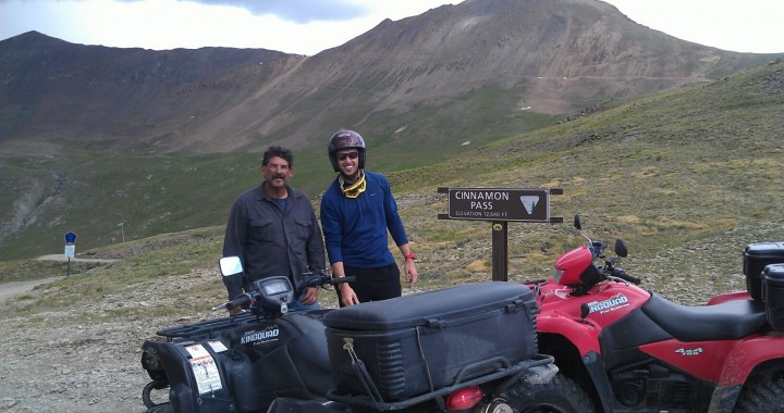 ATV Riding in the Colorado Rockies