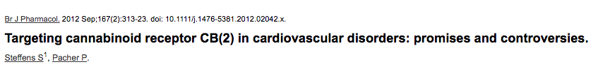 Targeting cannabinoid receptor CB(2) in cardiovascular disorders: promises and controversies.